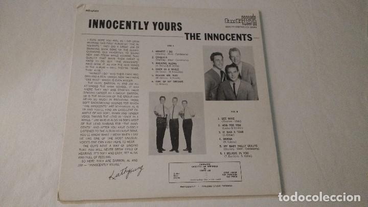 Discos de vinilo: ALBUM DEL TRIO NORTEAMERICANO DE MUSICA POP Y DOO-WOP THE INNOCENTS - Foto 2 - 133330454