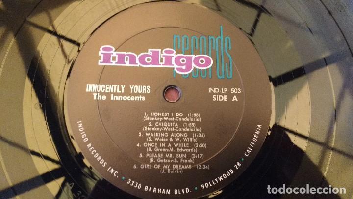 Discos de vinilo: ALBUM DEL TRIO NORTEAMERICANO DE MUSICA POP Y DOO-WOP THE INNOCENTS - Foto 3 - 133330454