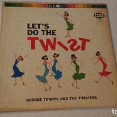 Discos de vinilo: ALBUM DEL GRUPO NORTEAMERICANO DE RHYTHM & BLUES Y DOO-WOP, GEORGE TORRES & THE TWISTERS. Lote 133333154