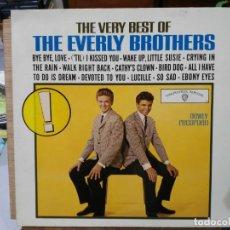 Discos de vinilo: THE VERY BEST OF EVERLY BROTHERS - LP. DEL SELLO WEA RECORDS DE 1965. Lote 133666198
