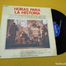 Discos de vinilo: HORAS PARA LA HISTORIA-FRANCISCO FRANCO-DOCUMENTO SONORO (EX+/EX+) LP Ç. Lote 133335166