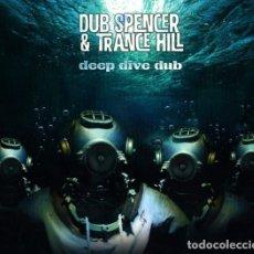 Discos de vinilo: LP + CD DUB SPENCER & TRANCE HILL – DEEP DIVE DUB 2016 ECHO BEACH. Lote 133336262