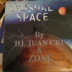 Discos de vinilo: INUSUAL SPACE.. Lote 133337658