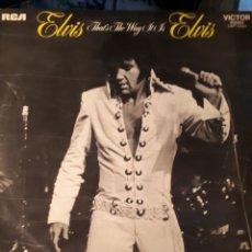 Discos de vinilo: ELVIS PRESLEY-THAT'S THE WAY IT IS. Lote 133339273