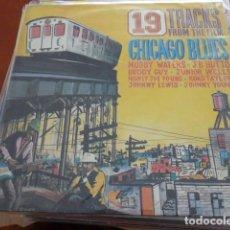 Discos de vinilo: DOBLE DISCO CON LA BSO DEL FILM CHICAGO BLUES. PRECIOSA PORTADA DESPLEGABLE. Lote 133341786