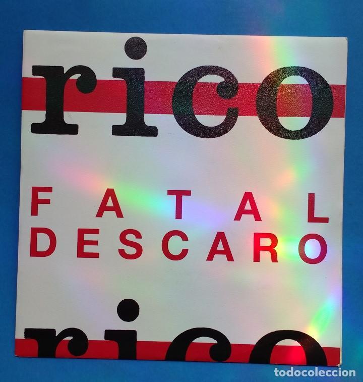 RICO - FATAL DESCARO- DISCO PROMOCIONAL (Música - Discos - Singles Vinilo - Grupos Españoles de los 70 y 80)