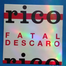 Discos de vinilo: RICO - FATAL DESCARO- DISCO PROMOCIONAL. Lote 133351394