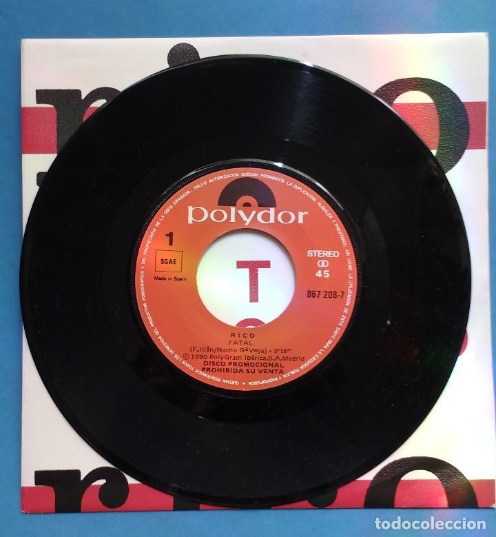 Discos de vinilo: RICO - FATAL DESCARO- DISCO PROMOCIONAL - Foto 2 - 133351394