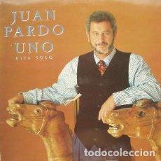 Discos de vinilo: JUAN PARDO – UNO, ESTÁ SOLO (ESPAÑA, 1990). Lote 133355818