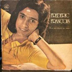 Discos de vinilo: LP ARGENTINO DE FREDERIC FRANÇOIS AÑO 1973. Lote 133355950