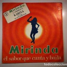 Discos de vinilo: KARINA – TU Y YO / YO TE SE PERDONAR (ESPAÑA, 1971). Lote 133357534