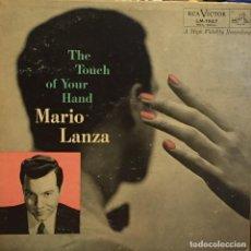 Discos de vinilo: LP ESTADOUNIDENSE DE MARIO LANZA AÑO 1955. Lote 133357902