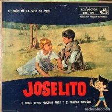 Discos de vinilo: LP ARGENTINO DE JOSELITO AÑO 1961. Lote 133358322