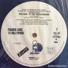 Discos de vinilo: PROMO MAXISINGLE JAPON FRANKIE GOES TO HOLLYWOOD – WELCOME TO THE PLEASUREDOME. Lote 133367530
