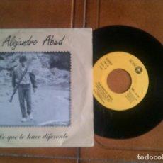 Discos de vinilo: DISCO DE ALEJANDRO ABAD. Lote 133370186
