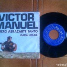 Discos de vinilo: DISCO DE VICTOR MANUEL. Lote 133370962
