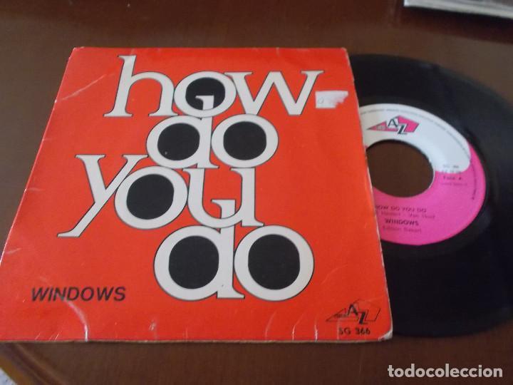 WINDOWS. HOW DO YOU DO. NOBODY´S BABY. segunda mano
