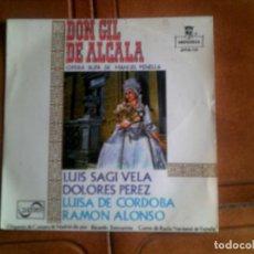 Discos de vinilo: DISCO DON GIL DE ALCALA OPERA BUFA DE MANUEL PENELLA. Lote 133371202