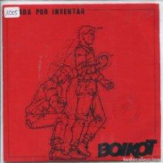 Discos de vinilo: BOIKOT / UN DIA TRANQUILO / ROCKER URBANO (SINGLE 1986) HEAY METAL. Lote 133374798