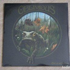 Discos de vinilo: OBLIVIOUS, OUT OF WILDERNESS, LP + CD + DESCARGA DIGITAL, NUEVO.. Lote 133376874
