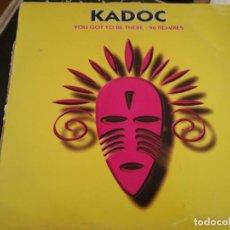 Discos de vinilo: KADOC.. Lote 133378034