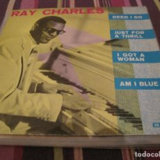 Discos de vinilo: EP-RAY CHARLES DEED I DO BELTER 50490 SPAIN 1961. Lote 133378286