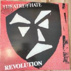 Discos de vinilo: THEATRE OF HATE-REVOLUTION. Lote 133393486