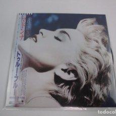Discos de vinilo: VINILO EDICIÓN JAPONESA DEL LP DE MADONNA TRUE BLUE. Lote 133396254