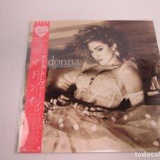 Discos de vinilo: VINILO EDICIÓN JAPONESA DEL LP DE MADONNA LIKE A VIRGIN. Lote 133396770