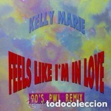Discos de vinilo: KELLY MARIE - FEELS LIKE I'M IN LOVE - MAXI-SINGLE SPAIN 1991. Lote 133398382