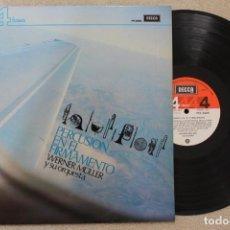 Discos de vinilo: WERNER MULLER Y SU ORQUESTA PERCUSION EN EL FIRMAMENTO LP VINYL MADE IN SPAIN 1974. Lote 133403346
