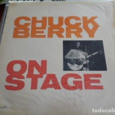 Discos de vinilo: CHUCK BERRY ‎– CHUCK BERRY ON STAGE ORIGINAL INGLES 1963. Lote 133406862