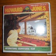 Discos de vinilo: HOWARD JONES. I.G.Y / ONE LAST TRY. EAST WEST, 1993. Lote 133411350