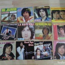 Discos de vinilo: LOTE 12 SINGLES RINGO. Lote 133412734