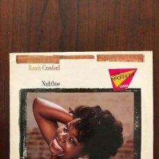 Discos de vinilo: RANDY CRAWFORD ?– NIGHTLINE SELLO: WARNER BROS. RECORDS ?– 1-23976 FORMATO: VINYL, LP, ALBUM . Lote 133422426