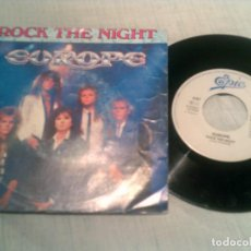 Discos de vinilo: SINGLE DE EUROPE ,ROCK THE NIGHT. Lote 133422758