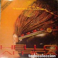 Discos de vinilo: TERRA W.A.N. – HELLO AFRICA / AFRICAN BEATS- MAXI-SINGLE SPAIN 1990. Lote 133423826