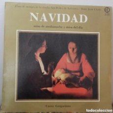 Discos de vinilo: NAVIDAD: MISA DE MEDIANOCHE Y MISA DEL DIA- MONJES ABADIA SAN PEDRO DE SOLESMES - LP SPAIN 1983 . Lote 133424682