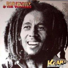 Discos de vinilo: BOB MARLEY & THE WAILERS, KAYA, LP ARIOLA SPAIN REISSUE (EDICION ESPECIAL). Lote 133426262