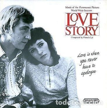 THE KNIGHTSBRIDGE THEATRE STRINGS AND ORCHESTRA ?– LOVE STORY - MUSIC FROM THE PARAMOUNT PICTURE (Música - Discos - LP Vinilo - Bandas Sonoras y Música de Actores )