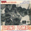 Discos de vinilo: BRUNO LOMAS CON LOS ROCKEROS (EN NAVIDAD) I GOT A WOMAN + 3 (EP 1965). Lote 133432650
