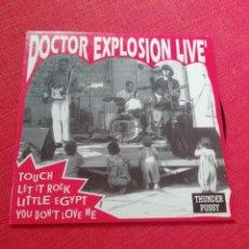 Discos de vinilo: DOCTOR EXPLOSION LIVE! EP . Lote 133440370
