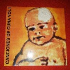 Discos de vinilo: CANCIONES DE CUNA I - LOS BUGES / THE CREPITOS / ANEUROL 50 EP. Lote 133441022