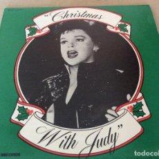 Discos de vinilo: JUDY GARLAND ?– CHRISTMAS WITH JUDY. MINERVA RECORDS ?1983. ED USA.. Lote 133444014