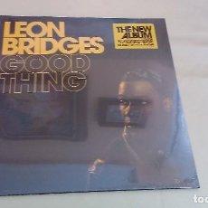 Discos de vinilo: LP LEON BRIDGES GOOD THING VINILO REEDICION FUNK SOUL. Lote 133444830