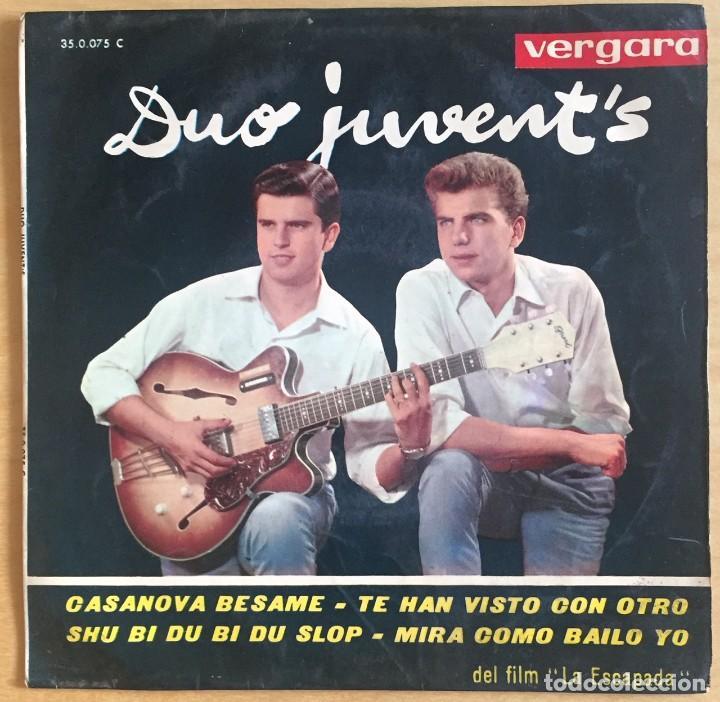DUO JUVENTS EP CASANOVA BESAME + 3 VERGARA 1963 (Música - Discos de Vinilo - EPs - Grupos Españoles 50 y 60)