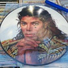 Discos de vinilo: MICHAEL JACKSON LP PICTURE DISC KING OF POP. Lote 133447431
