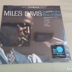 Discos de vinilo: LP MILES DAVIES KIND OF BLUE VINILO REEDICION MODAL JAZZ. Lote 133447902