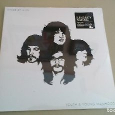 Discos de vinilo: 2LP KINGS OF LEON YOUTH & YOUNG MANHOOD VINILO REEDICION INDIE ROCK. Lote 133450222