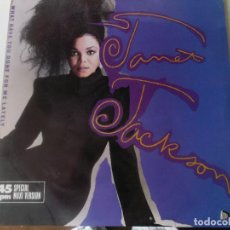 Discos de vinilo: JANET JACKSON?– WHAT HAVE YOU DONE FOR ME LATELY 1986. Lote 133451450